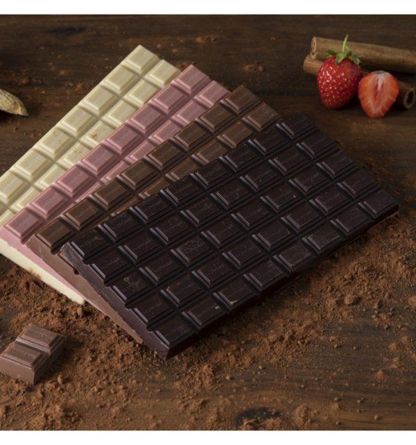 PINK Chocolat Blanc aux Fraises